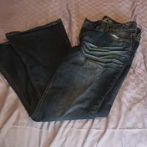 Size 13 Mudd Jean's with flare bottoms.
